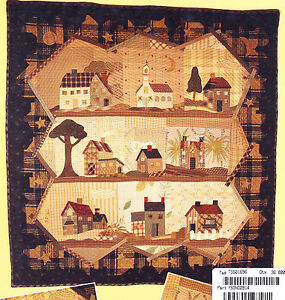 Good-Night-applique-amp-pieced-quilt-PATTERN-Yoko-Saito