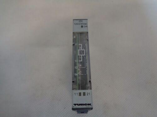TURCK BL20-2DI-120//230 ELECTRONIC MODULE VN01-03