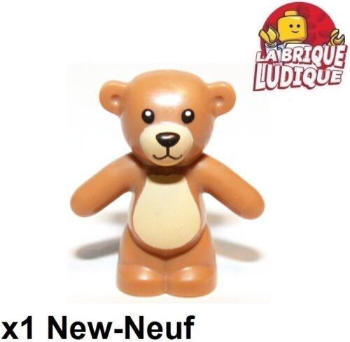 Lego 1x Minifig utensil Teddy Bear ours ourson peluche m d flesh 98382pb001 NEUF