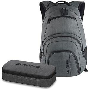 Details zu DAKINE SET Laptop Rucksack Schulrucksack CAMPUS SM 25l + SCHOOL CASE Mäppchen