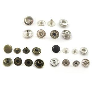 10mm-POP-SNAP-FASTENERS-BLACK-SILVER-or-ANTIQUE-BRASS-STUD-LEATHER-CRAFT-DIY-UK