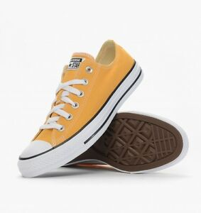 Converse All Star Solar Orange Chuck Taylor Ct OX Men s Shoes ... d968b24b1