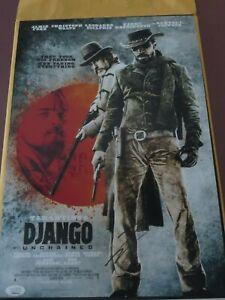 LEONARDO-DICAPRIO-SIGNED-DJANGO-UNCHAINED-12X18-PHOTO-JSA-AUTHENTICATED