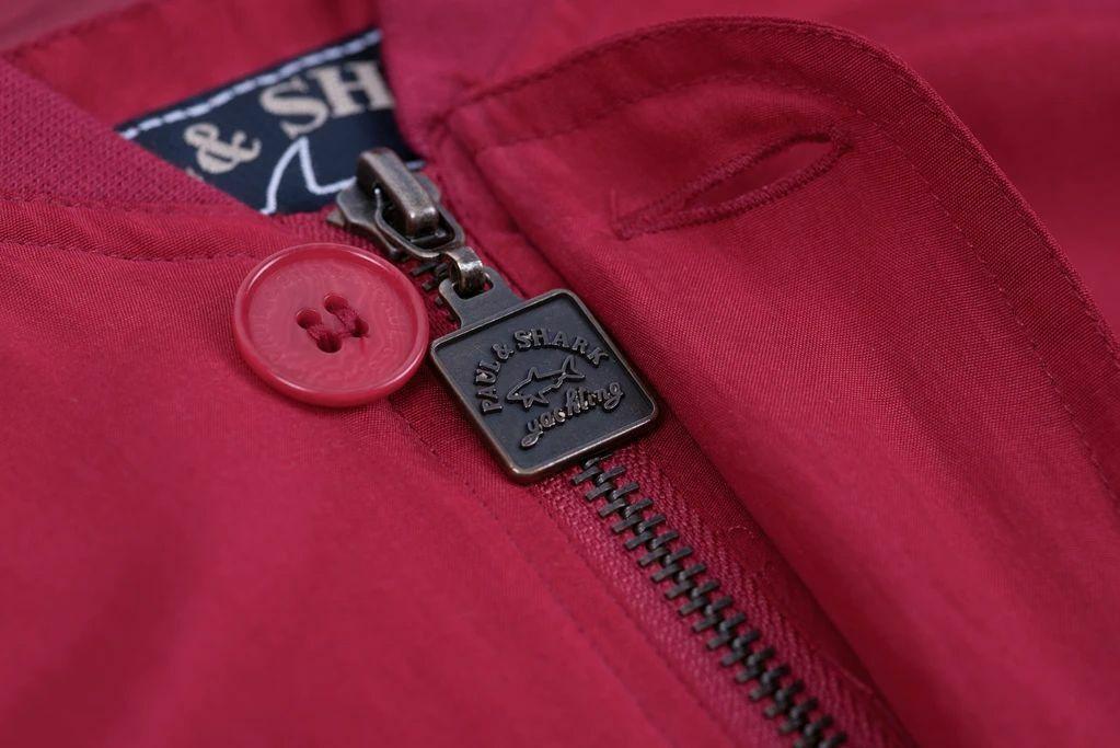 Paul & Shark Yachting Men's Red Silk Bomber Jacke… - image 2