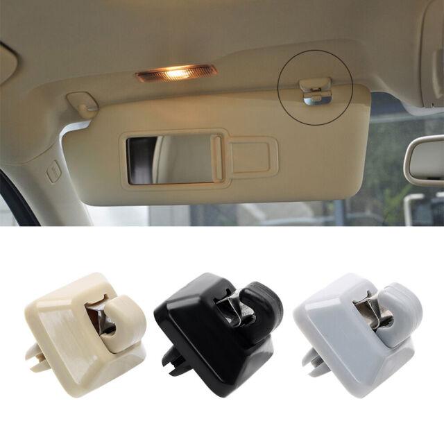 Black Sun Visor Hook Clip Bracket For AUDI A1 A3 Quattro 04-16 A4 A5 S5 Q3 Q5 TT