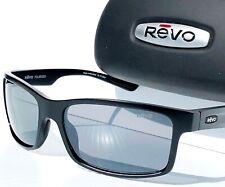 REVO RE1071XL 01 GY CRAWLER XL Matte Black w// Graphite POLARIZED Wrap Suns $199
