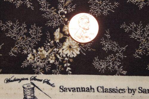 "/""SAVANNAH CLASSICS/"" C.1865 QUILT FABRIC BTY WASHINGTON STREET STUDIO 00482-Z"