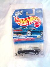 Hot Wheels 1998 Radio Flyer Wagon #827 / '65 Ford Mustang #455 Error Wrong Card