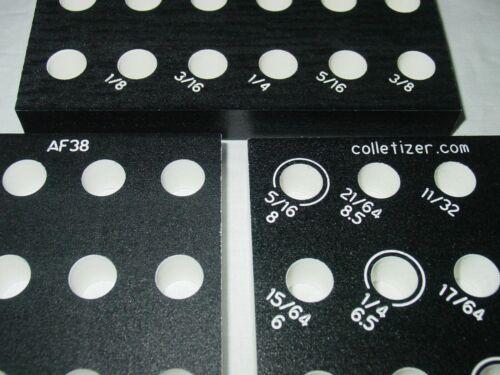 Tray Holder Stand AF21-AF44 AF38 Acura Flex Collet Inch//Metric Set Storage Rack