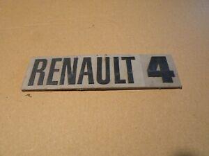 Sigle-insigne-logo-plastique-RENAULT-4-R4-4L-monogramme