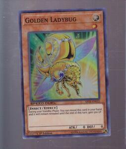 ♦ yu-gi-oh ladybug gold ♦ : sbtk-fr022-vf//super rare golden ladybug sd