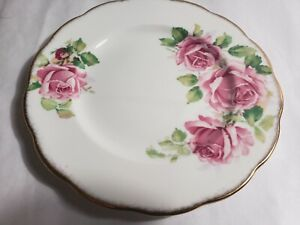 Queen-Anne-Bone-China-England-Lady-Margaret-Rose-Pattern-Dessert-7-034-4-Available
