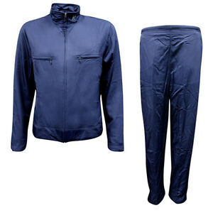 f700e0d5d975 Nike Swoosh Womens Nylon Regular Fit Zip Up Full Tracksuit Navy ...