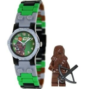 LEGO-Watch-9001116-Star-Wars-Chewbacca-Minifigure-Gift-Set-Kids-COD-PayPal
