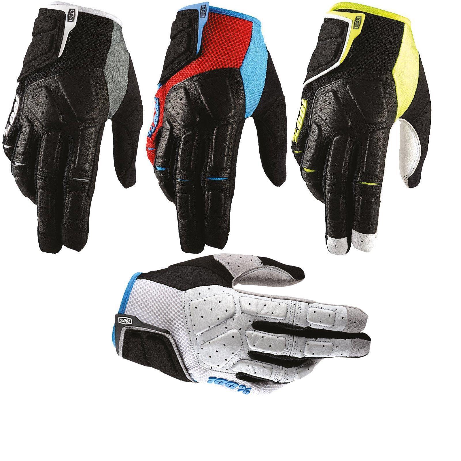 100% Prozent Simi Handschuhe Clarino Komfort MTB DH MX Motocross Enduro Offroad