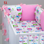 8-pc-cot-cot-bed-bedding-sets-PILLOW-BUMPER-CASES-stars-blue-grey-pink-nursery thumbnail 52