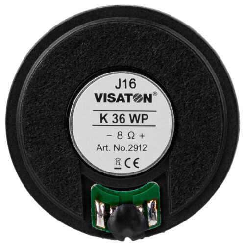 "Visaton K36WP 1.4/"" Miniature Speaker 8 Ohm"