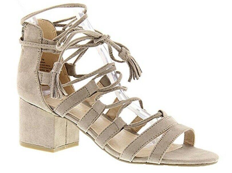 Madden Girl Loverrr Taupe Sandal Größe 8.5 EU 39.5