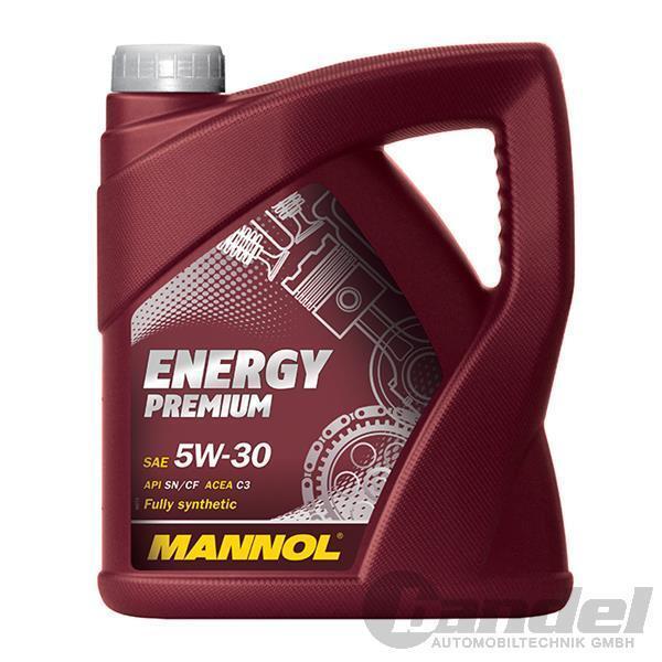 [4,40€/L] 5W-30 5 Liter MANNOL ENERGY PREMIUM MOTORÖL MB 229.51 BMW LONGLIFE-04