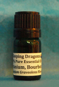 Bourbon Geranium HQ 100% Pure Essential Oil, 5mL Aromatherapy Naturopathy Soaps