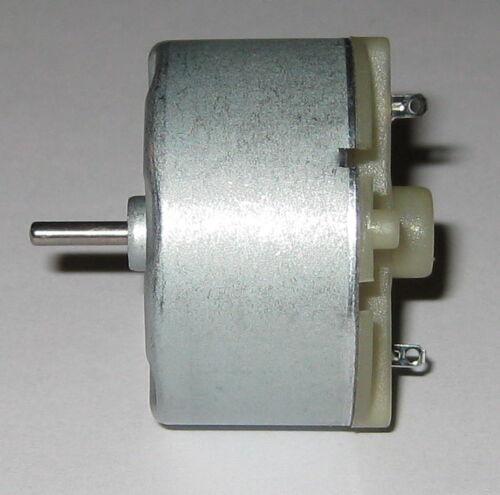6 VDC 4300 RPM Fisher Price Swing Motor RF-500TB-18280 RF-500 DC Motor