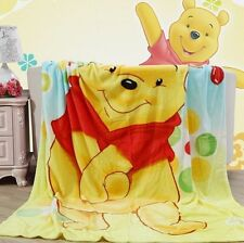 FASHION Cartoon picture Soft Warm Coral Fleece Throw Blanket Rug Plush 1.5M * 2M