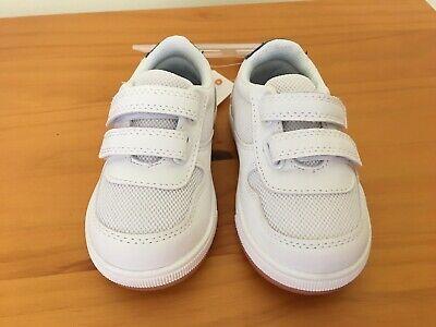 Gymboree Boys White Sneakers Shoes NWT Size 1