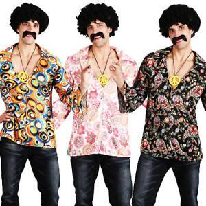 Anni 70 Austin Powers Tuta da Uomo Costume anni/'60 trendy adulti anni 70 Costume Outfit