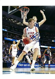 Basketball Jakob Poeltl Auto Autographed 8x10 Photo Signed Picture W/coa Proof Utah Utes 5 Dependable Performance
