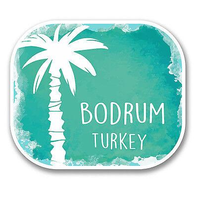 2 x Istanbul Turkey Vinyl Sticker Laptop Travel Luggage Car #6080