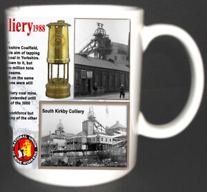 SOUTH-KIRKBY-COLLIERY-COAL-MINE-MUG-LIMITED-EDITION-WEST-YORKSHIRE-MINERS-GIFT
