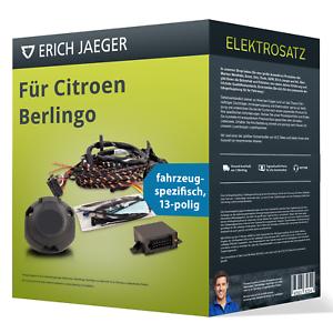 spezifisch NEU inkl Für Citroen Berlingo Elektrosatz 13-po EBA