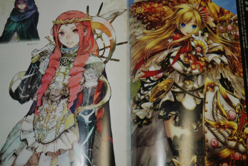JAPAN Chain Chronicle 1st season Illustrations toi8 Art book