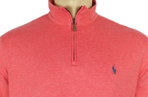 con Polo da collo Camicia 98 Ralph 2xl uomo mezza pullover Lauren metà zip a rosa xFwnn8qSB