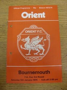 05-01-1974-Leyton-Orient-v-Bournemouth-FA-Cup-Faint-Crease-Punched-Holes-F