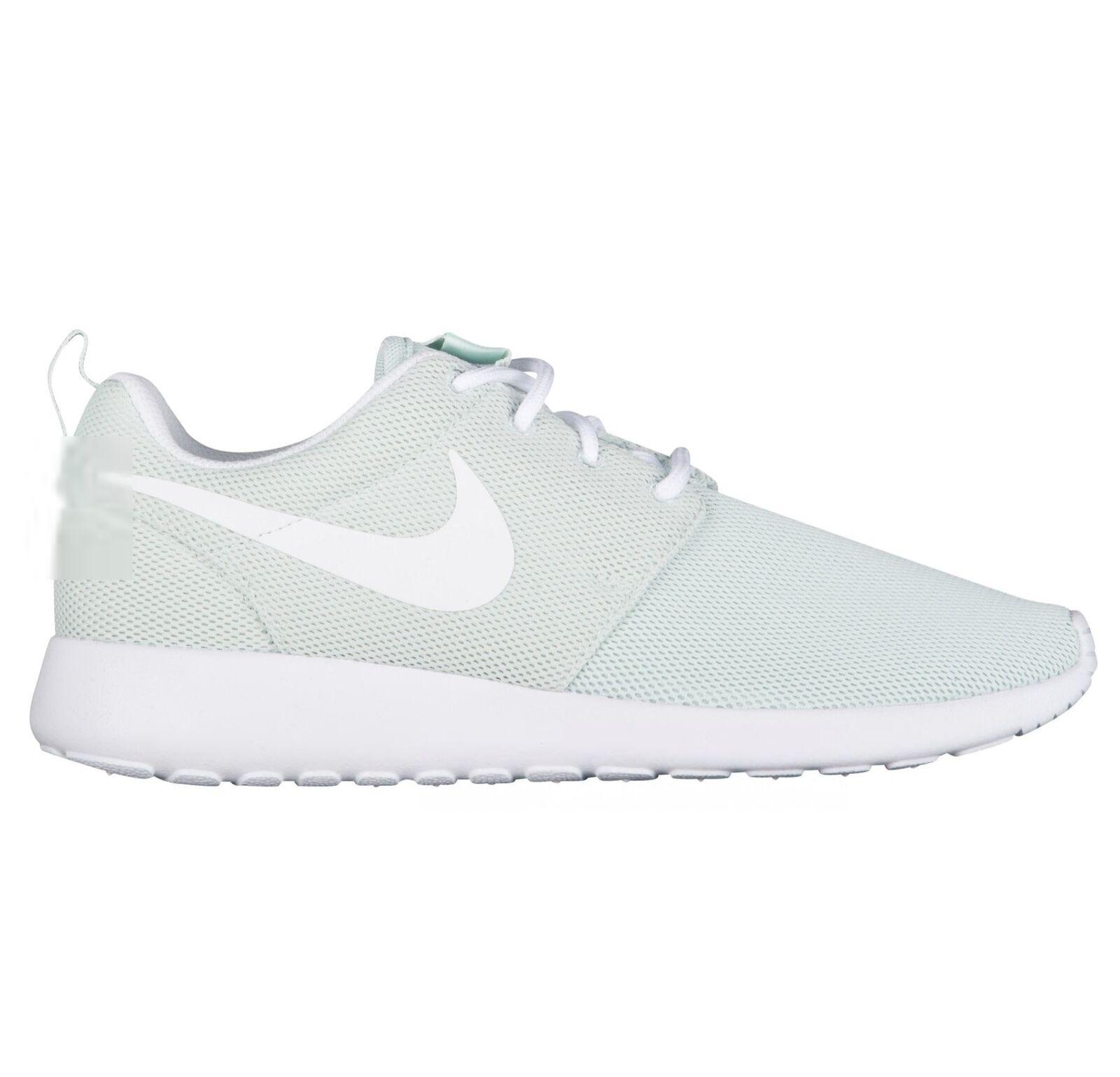 new concept 97241 a7b99 Nike Roshe One Womens 844994-303 Fiberglass White White White Mesh Running  shoes Size 11