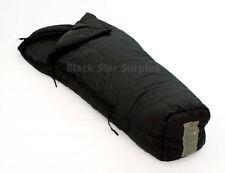 US Military Surplus Cold Weather Sleeping Bag 30 to -10°- Used, Black, Regular