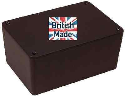 ABS BLACK PLASTIC ELECTRONICS PROJECT BOX ENCLOSURE 177 X 120 X 83MM