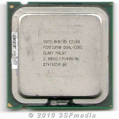 Intel Dual Core Processor E2180 (1M Cache, 2.00 GHz, 800 MHz FSB) 775 socket