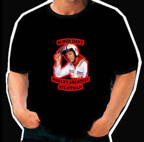 Super Dave drôle cascadeur Rétro T Shirt
