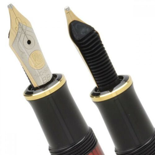 New Pelikan SOUVERAN M600 Bordeaux Fountain Pen 14K Gold Nib EF,F,M,B Authentic