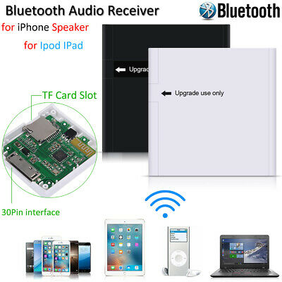 Music Audio Bluetooth Receiver Adapter for iPod iPhone 30 Pin Sounddock Speaker
