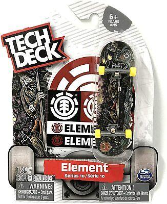 Tech Deck Element Series 9 RARE Doigt Skateboard New