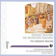 Die deutschen Psalmen von Instrumentalensemble Helga Weber   CD   Zustand gut