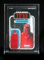 7x Acrylic Display Case - Vintage Carded Star Wars Figures -gw Acrylic Adc11