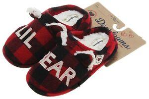Dearfoams Kids Lil Bear Clog Slipper