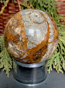 288g RARE NATURAL PIETERSITE CRYSTAL POLISHED HEALING SPHERE  Reiki  NAMIBIA