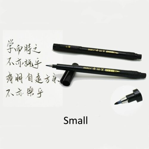 Practical Caligraphy Brush Pen 3 Size Calligraphy Signature Nominations Painting
