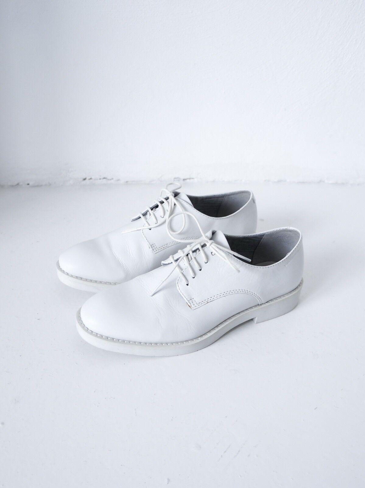 Los zapatos más populares para hombres y mujeres Descuento por tiempo limitado HOF115: Vagabond Leder schuhe oxford weiß / Leila leather shoes white 36