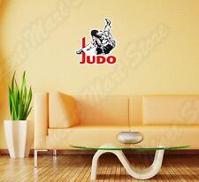 """Judo Martial Arts Fight Sport Sparring Wall Sticker Room Interior Decor 20""""X25"""""""